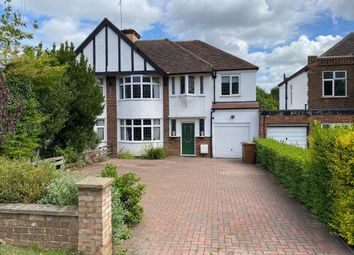 Thumbnail 4 bed semi-detached house for sale in Kettering Road North, Spinney Hill, Northampton
