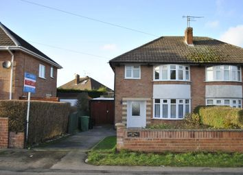 Thumbnail 3 bed semi-detached house to rent in Oadby Road, Wigston