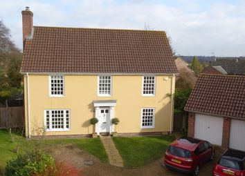 Thumbnail 4 bed detached house for sale in Meadow View, Needham Market, Ipswich