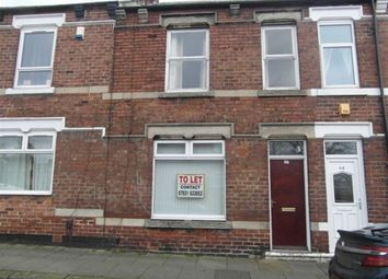 Thumbnail 3 bed terraced house to rent in Locomotive Street, Darlington