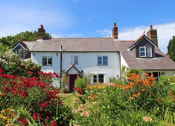 Thumbnail 4 bed detached house for sale in Bashley Cross Road, New Milton