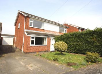 Thumbnail 3 bed semi-detached house for sale in Erskine Close, Hinckley