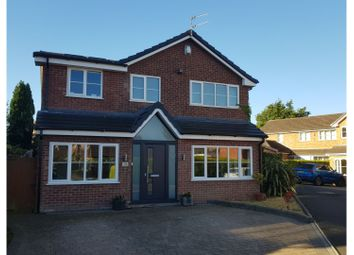Thumbnail 4 bed detached house for sale in Downham Chase, Altrincham