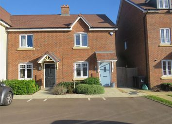 Thumbnail 2 bed end terrace house for sale in The Jumps, Marston Moretaine, Bedford