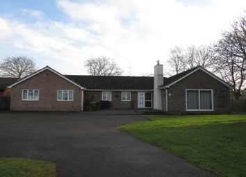 Thumbnail 6 bed detached bungalow for sale in Ixworth Road, Norton, Bury St. Edmunds