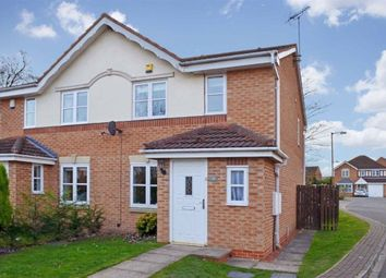 Thumbnail 3 bed semi-detached house to rent in Copperfield Close, Sherburn In Elmet