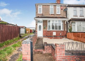 Thumbnail 3 bed end terrace house for sale in Nuffield Road, Coventry, West Midlands
