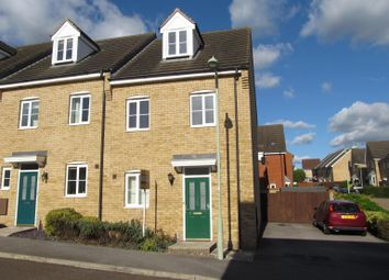 Thumbnail 3 bedroom end terrace house for sale in Brambling Close, Stowmarket