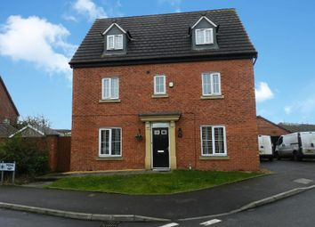 Thumbnail 5 bedroom detached house for sale in Mona Way, Irlam, Manchester