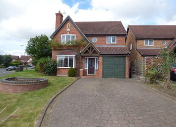 Thumbnail 5 bed detached house to rent in Portico Road, Littleover, Derby