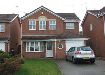 Thumbnail 4 bed detached house to rent in Willow Croft, Boulton Moor, Derby