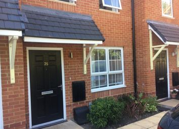 Thumbnail 2 bed terraced house for sale in Coppins Close, Christchurch Road, West Parley
