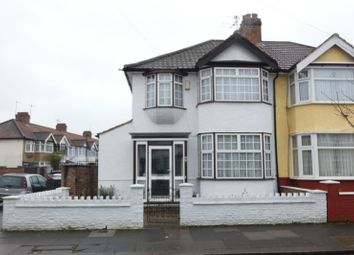 Thumbnail 3 bed semi-detached house for sale in Rosemary Avenue, Edmonton, London