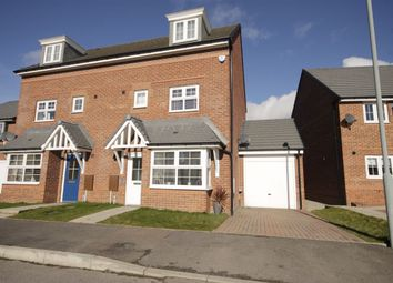 Thumbnail 4 bed semi-detached house for sale in Abbotts Way, Consett