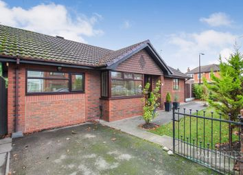 Thumbnail 3 bed detached bungalow for sale in Westbourne Park, Urmston, Trafford