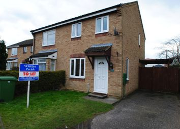 Thumbnail 2 bed semi-detached house to rent in Suffield Close, Tharston, Norwich