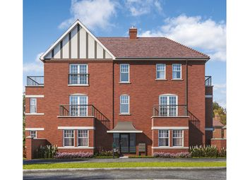 "Thumbnail 2 bed flat for sale in ""Chestnut House"" at Wren Drive, Finberry, Ashford"
