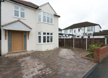 Thumbnail 4 bed detached house for sale in Burnway, Hornchurch