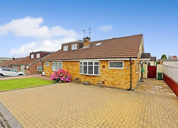 Thumbnail 2 bed semi-detached bungalow for sale in Milford Close, Tonteg, Pontypridd