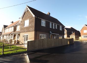 Thumbnail 3 bed semi-detached house for sale in Station Road, Berwick, Polegate