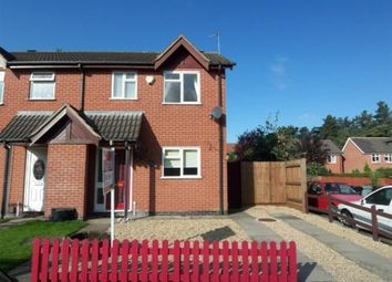 Thumbnail 3 bed semi-detached house to rent in Fulford Close, Grantham