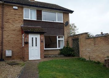 Thumbnail 3 bedroom end terrace house for sale in Swale Drive, Kings Heath, Northampton