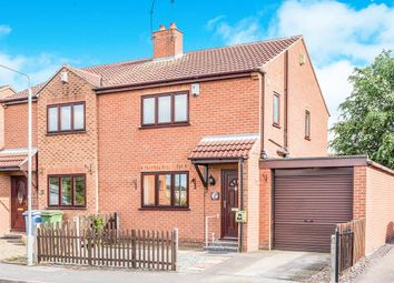Thumbnail 3 bed semi-detached house for sale in Camborne Close, Retford