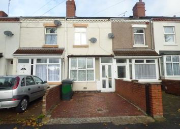 Thumbnail 2 bedroom terraced house for sale in Foleshill Area, Coventry, West Midlands