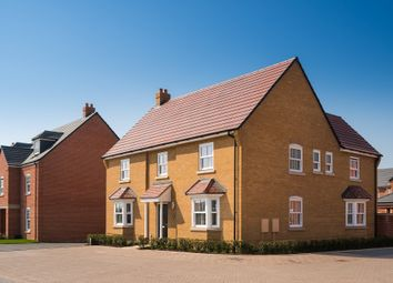 """Thumbnail 5 bed detached house for sale in """"Henley"""" at Ripley Link, Great Denham, Bedford"""