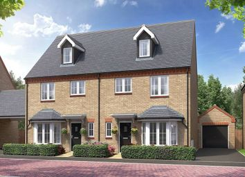 "Thumbnail 4 bed semi-detached house for sale in ""The Madeley - Detached"" at Kempton Close, Chesterton, Bicester"