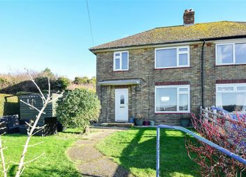 Thumbnail 3 bed semi-detached house for sale in Ottawa Crescent, Dover, Kent