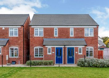 Thumbnail 2 bed semi-detached house for sale in Verona Court, Penkridge, Stafford