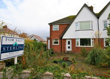Thumbnail 2 bed flat for sale in Digby Road, Rhos On Sea, Colwyn Bay