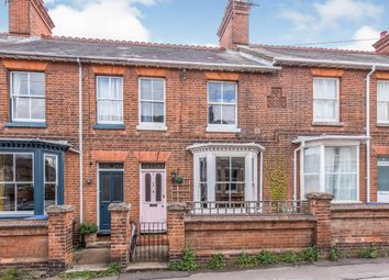 Thumbnail 2 bed terraced house for sale in Mill Road, Bury St. Edmunds