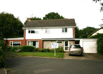 Thumbnail 4 bed detached house to rent in Orchard Close, Woodbury, Exeter