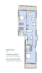 Thumbnail 2 bed flat for sale in Dawson House, London