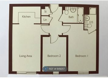Thumbnail 2 bed flat to rent in Page Court, Crawley