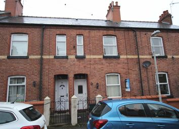 Thumbnail 2 bed terraced house for sale in Bury Street, Wrexham