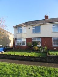 Thumbnail 3 bed semi-detached house for sale in Cornwall Road, Newport