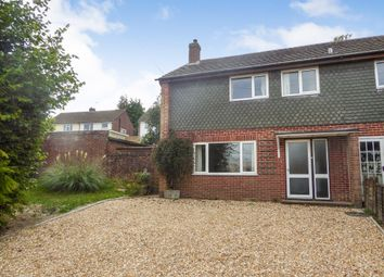 Thumbnail 3 bed end terrace house to rent in Larch Drive, Kingsclere, Newbury