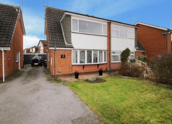 Thumbnail 3 bed semi-detached house for sale in Elswick Drive, Beeston Rylands, Nottingham