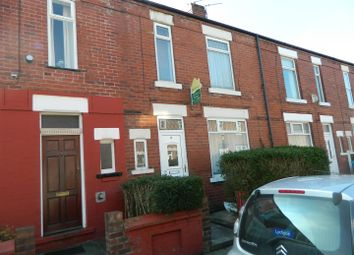 Thumbnail 3 bedroom terraced house to rent in Curtis Street, Levenshulme, Manchester