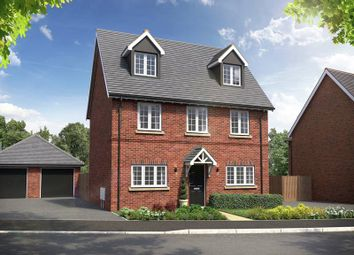 "Thumbnail 4 bedroom property for sale in ""The Oatfield"" at Red Lane, Burton Green, Kenilworth"