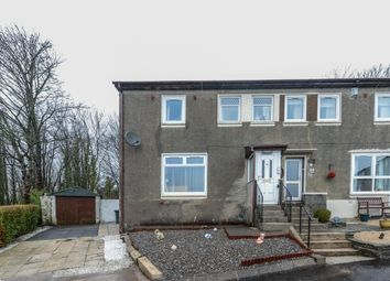 Thumbnail 3 bed semi-detached house for sale in Garshake Terrace, Dumbarton