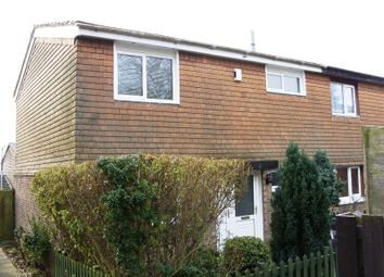 Thumbnail 3 bed end terrace house to rent in Brickwell Court, Little Billing, Northampton