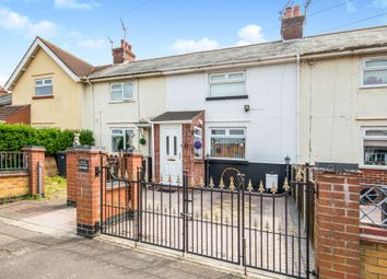 Thumbnail 2 bed terraced house for sale in Perebrown Avenue, Great Yarmouth