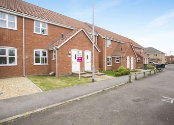 Thumbnail 2 bed terraced house for sale in Piebald Close, Downham Market