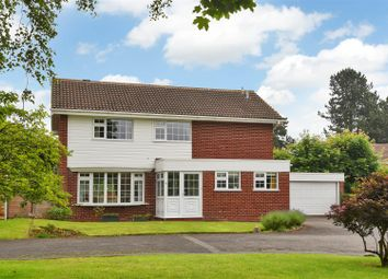 Thumbnail 3 bed detached house for sale in The Yews, Oadby, Leicester