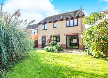 Thumbnail 4 bed detached house for sale in El Alamein Way, Bradwell, Great Yarmouth