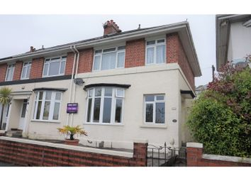 Thumbnail 3 bedroom semi-detached house for sale in Old Laira Road, Plymouth